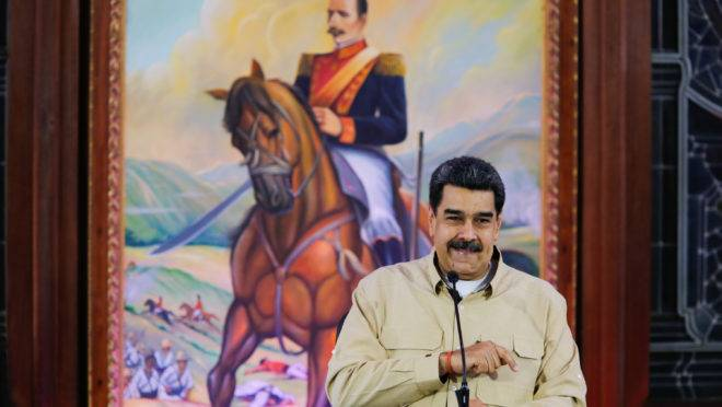 Ditador da Venezuela, Nicolás Maduro