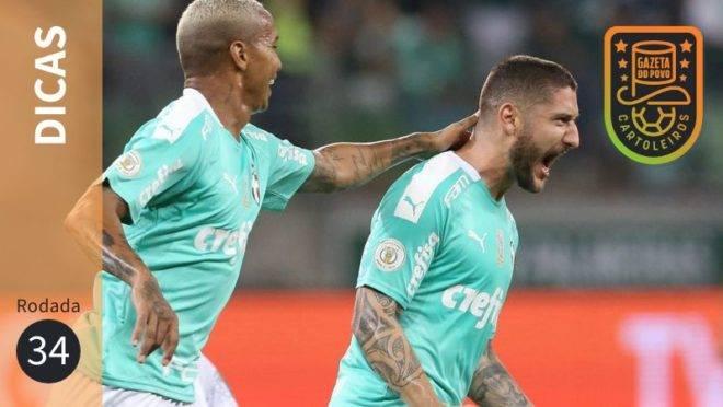 Dicas do Cartola FC 2019 – 34ª rodada: escalações e apostas
