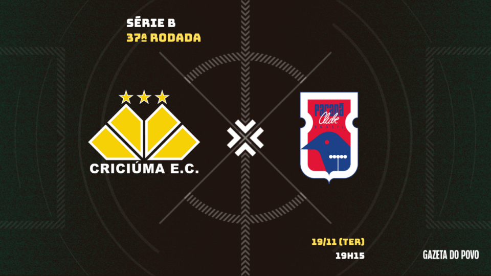 Com fio de esperança por acesso, Paraná visita o Criciúma; tudo sobre o jogo