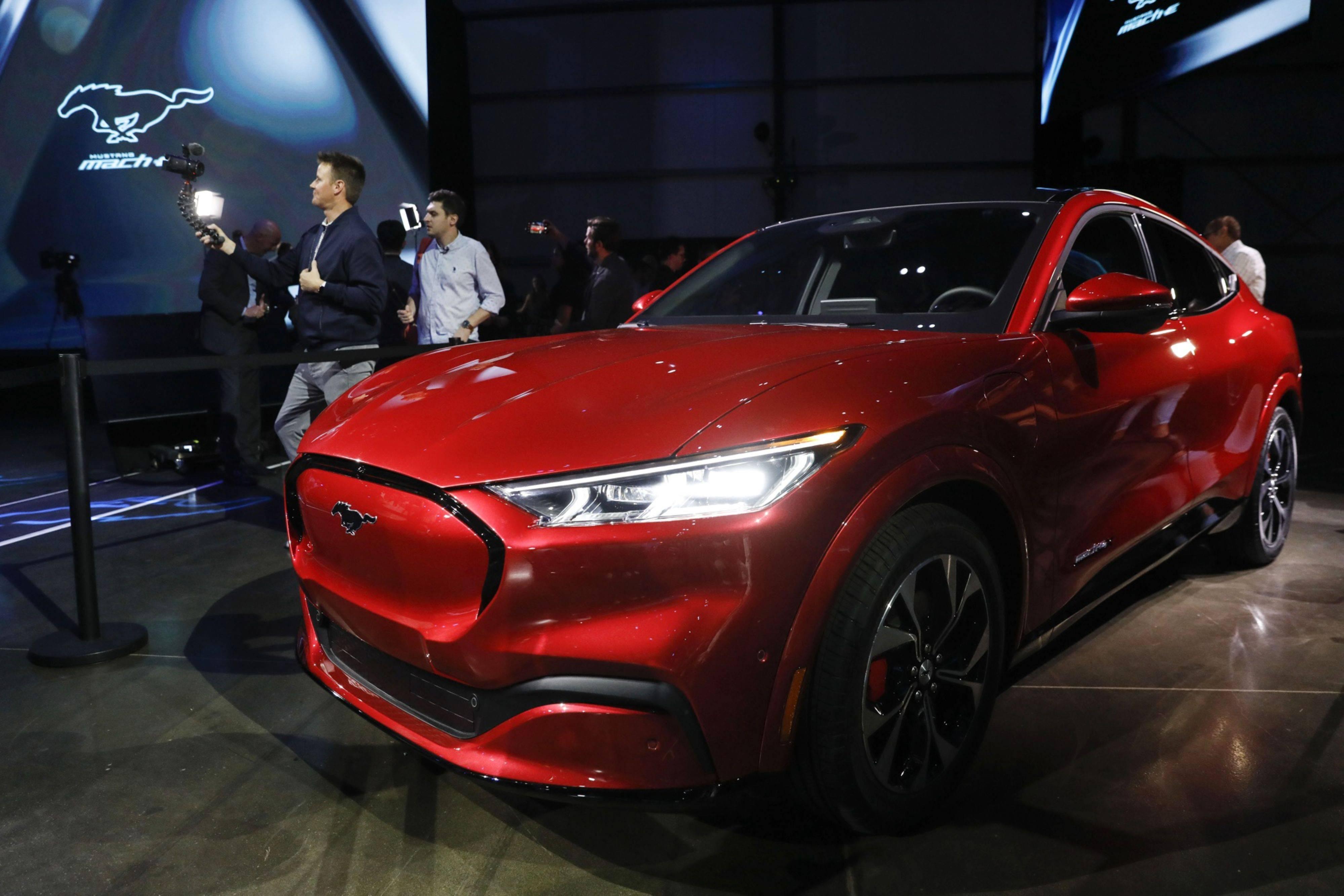 Mustang Mach-E. Foto: Patrick T. Fallon/ Bloomberg.