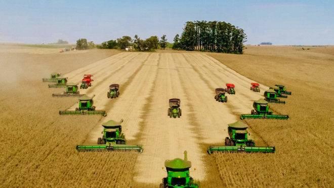 O setor agropecuário deve crescer mais do que o esperado no próximo ano. Foto: EXPEDIÇÃO SAFRA 2018/2019 – CRUZ ALTA-RS – COLHEITA DE SOJA