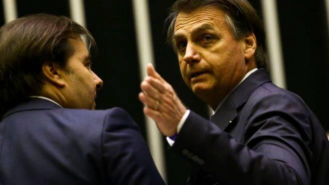 agenda social de Maia contrapõe Bolsonaro