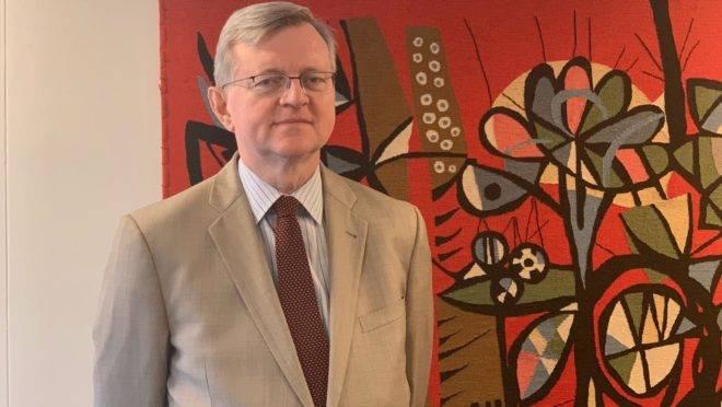 O diplomata Nestor Forster, que teve seu nome aprovado pelo governo norte-americano para assumir o cargo de embaixador do Brasil em Washington