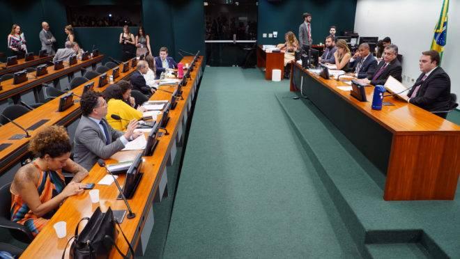 Reunião da CCJ da Câmara em 19/11/2019