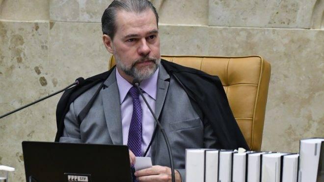 Presidente do STF, Dias Toffoli, foi o primeiro a votar no julgamento sobre a legalidade do compartilhamento de dados.