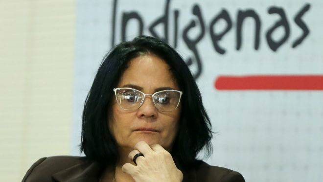 A ministra da Mulher, da Família e dos Direitos Humanos, Damares Alves, que planeja mobilizar o poder público para combater o infanticídio indígena.
