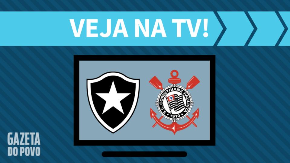 Botafogo x Corinthians AO VIVO: como assistir ao jogo na TV