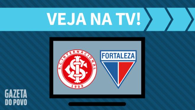 Internacional x Fortaleza: veja na TV