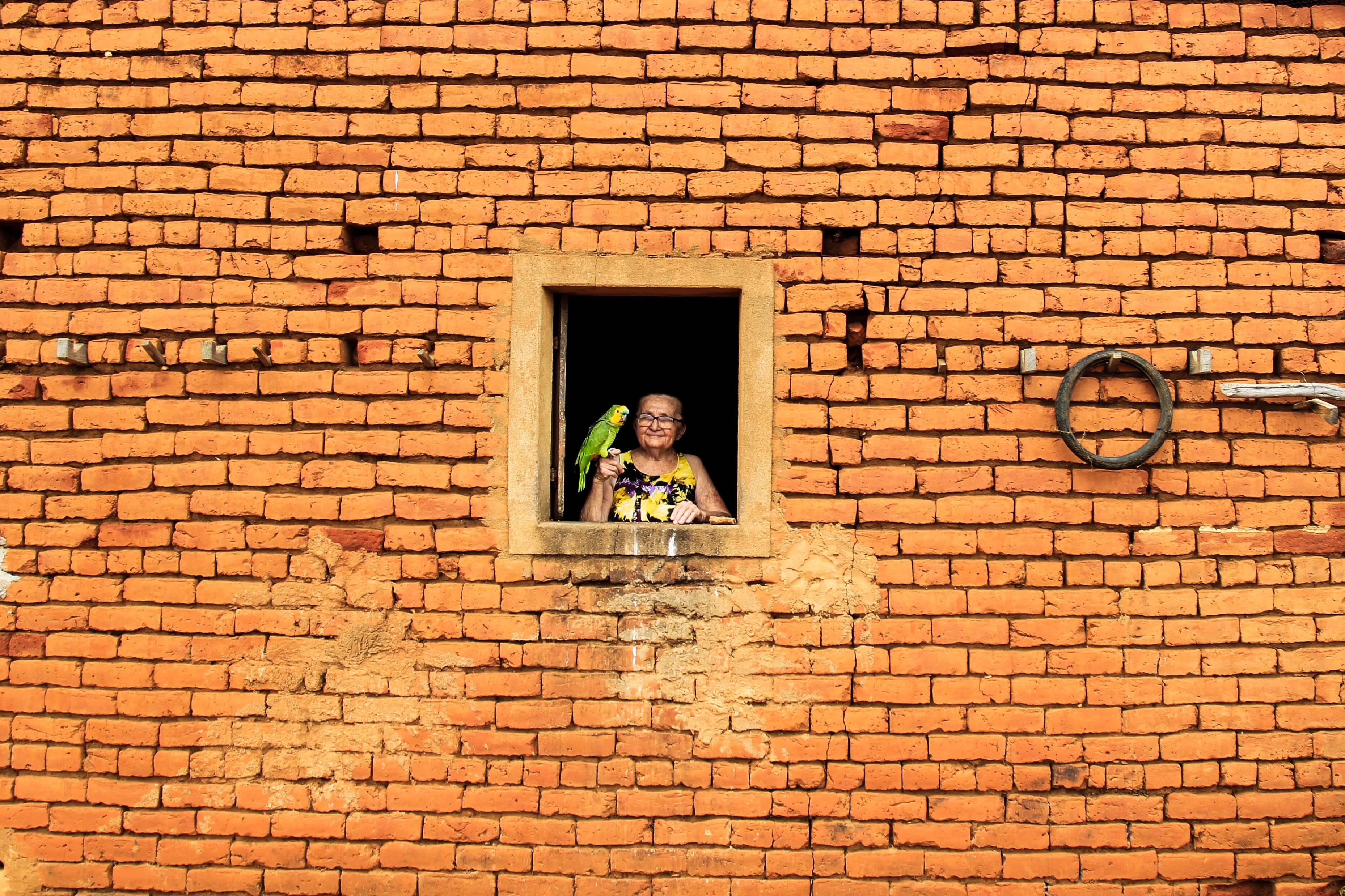 Expedição Agricultura Familiar em Queimada Nova no Piauí. Na foto, a produtora Izidora Vieira Rodrigues. Foto: Rogério Machado/Gazeta do Povo
