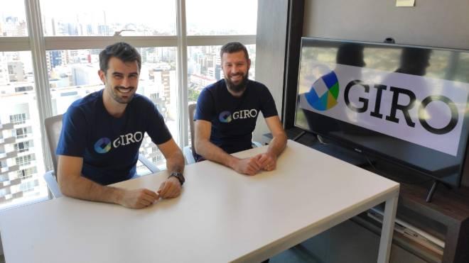 Ronaldo C. de Oliveira e Deividi Alexandre Cavarzan, sócios da Giro.Tech.