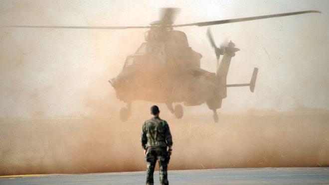 Soldados franceses no Mali