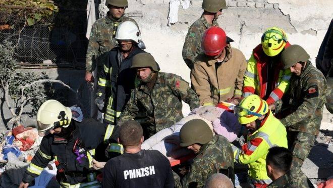 Terremoto na Albânia