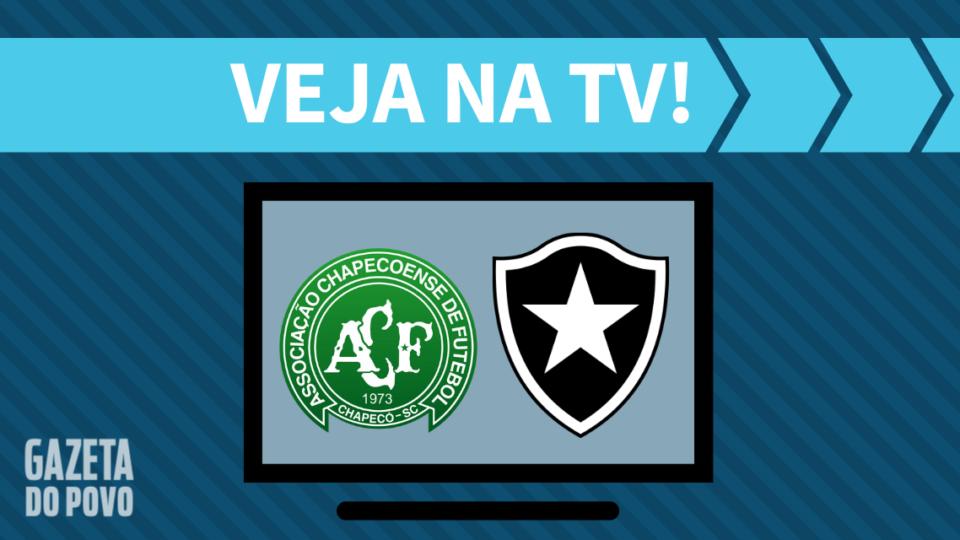 Chapecoense x Botafogo AO VIVO: como assistir ao jogo na TV