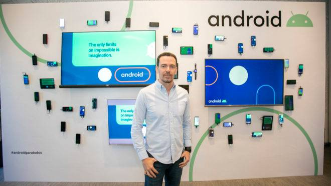 Flavio Ferreira, diretor de parcerias de Android para a América Latina
