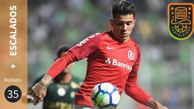 Victor Cuesta, do Internacional, está entre os jogadores mais escalados da 35ª rodada do Cartola FC 2019.