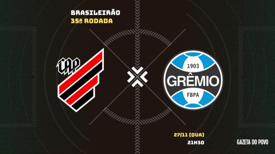 De olho no G4, Athletico tem confronto direto contra o Grêmio; tudo sobre o jogo