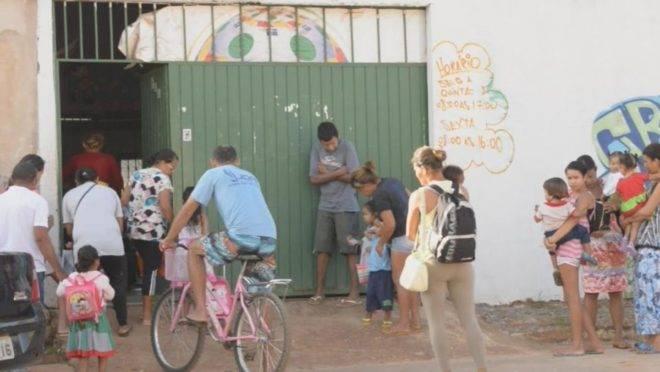 Mães não teriam com quem deixar os filhos não fosse o trabalho voluntário mantido por doações na Creche Alecrim | Divulgação