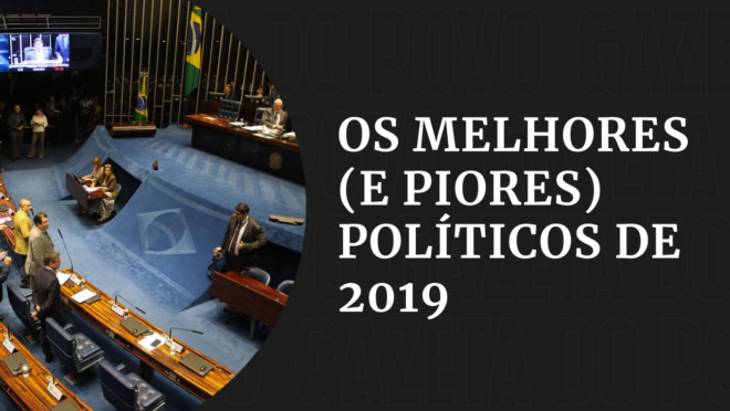 Ranking dos políticos 2019