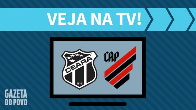 Ceará x Athletico: veja na TV