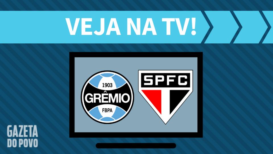 Grêmio x São Paulo AO VIVO: como assistir ao jogo na TV