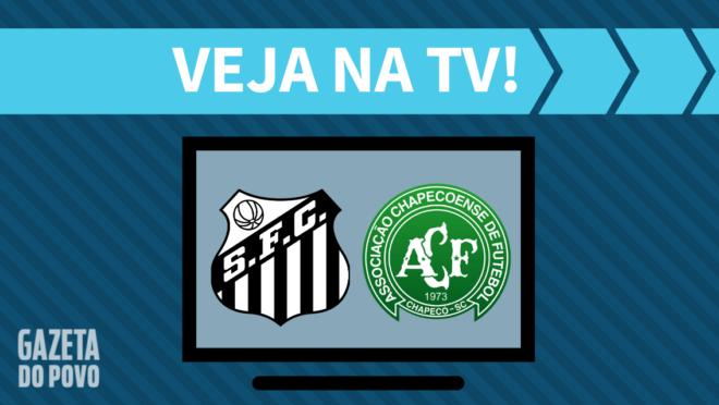 Santos x Chapecoense: veja na TV