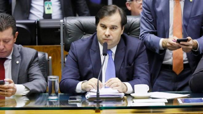 Deputado Rodrigo Maia, presidente da Câmara Federal