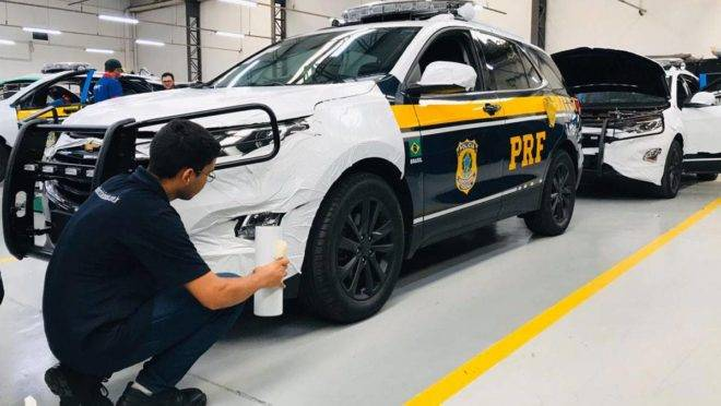 No total, serão 30 viaturas blindadas para PRF no Paraná.