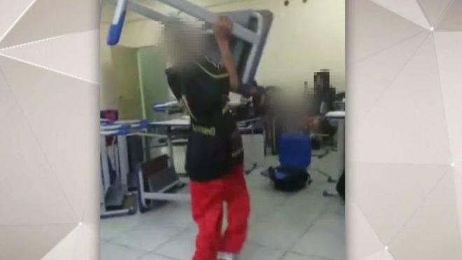 Fato registrado em escola do interior de São Paulo em 2019