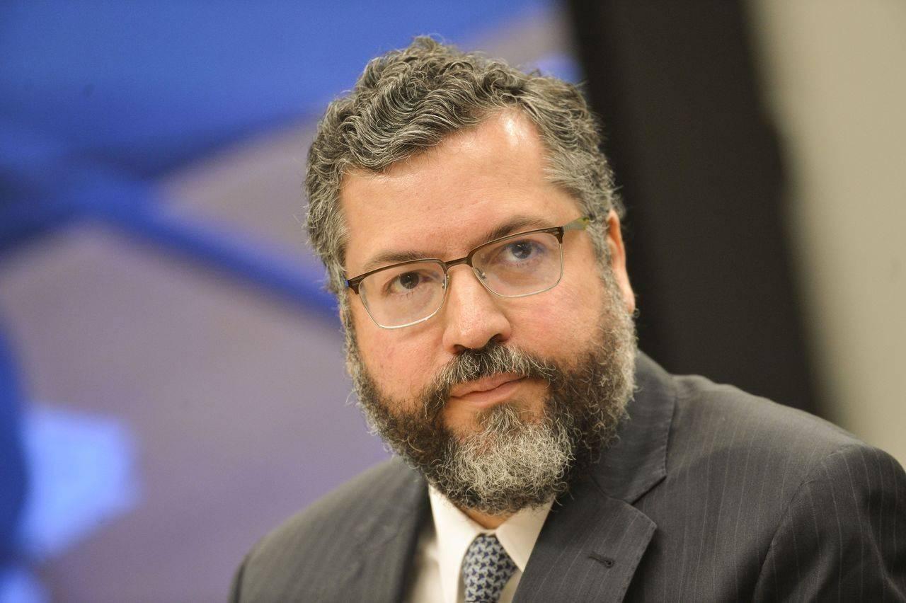O ministro de Relações Exteriores, Ernesto Araújo.