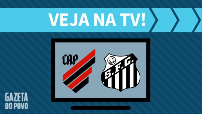 Athletico x Santos: veja na TV