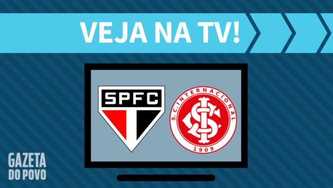 São Paulo x Internacional: veja na TV