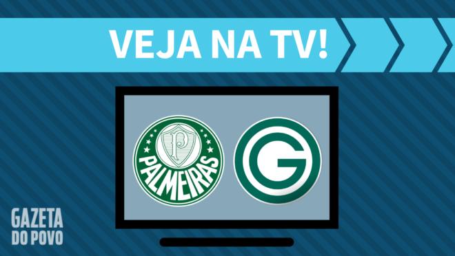 Palmeiras x Goiás: veja na TV