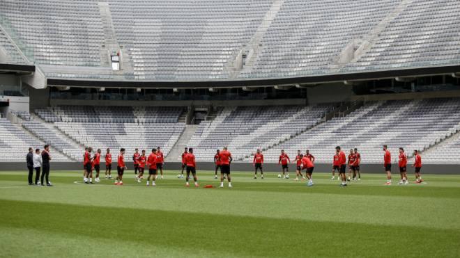 Athletico se prepara para encarar o Santos pelo Brasileirão