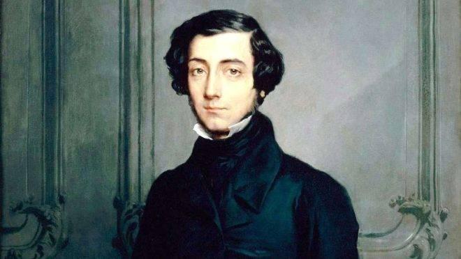 Retrato de Alexis de Tocqueville, por Théodore Chassériau.