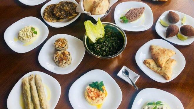 Os pratos do restaurante Baba Ghandour têm todos tempero caseiro e receitas familiares.