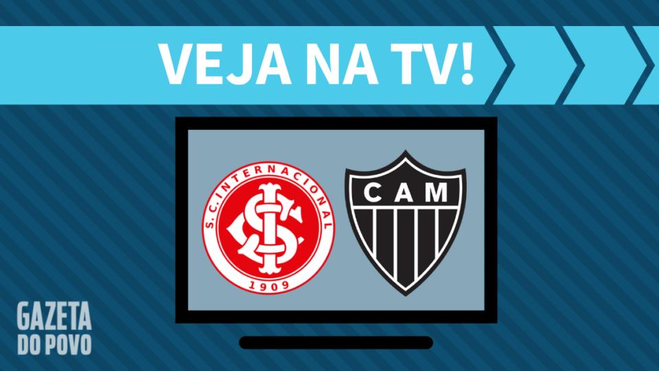 Internacional x Atlético-MG AO VIVO: como assistir ao jogo na TV