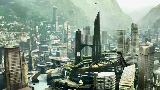"""Cena do filme """"Pantera Negra. As """"Wakandas"""" da vida real são geridas por empresas, as chamadas zonas econômicas especiais."""
