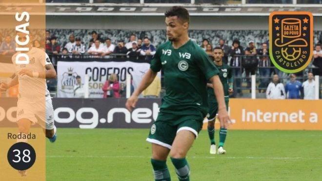 Dicas da 38ª rodada do Cartola FC 2019.