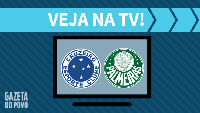 Cruzeiro x Palmeiras: veja na TV