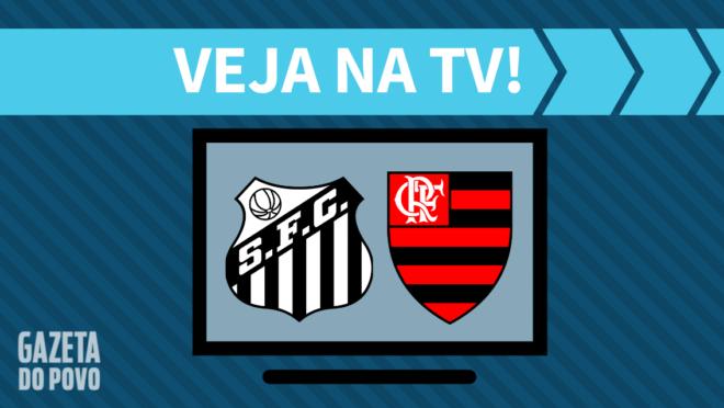 Santos x Flamengo: veja na TV