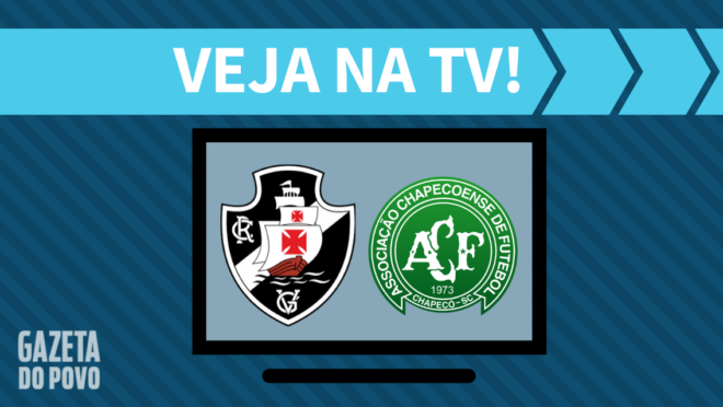 Vasco x Chapecoense: veja na TV