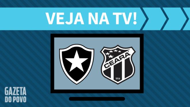 Botafogo x Ceará: veja na TV