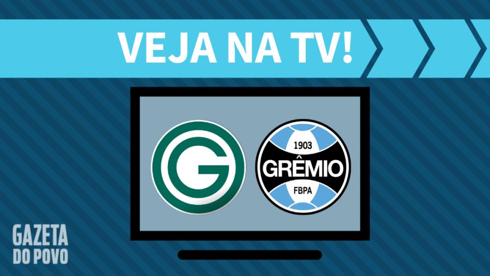 Goiás x Grêmio AO VIVO: como assistir ao jogo na TV