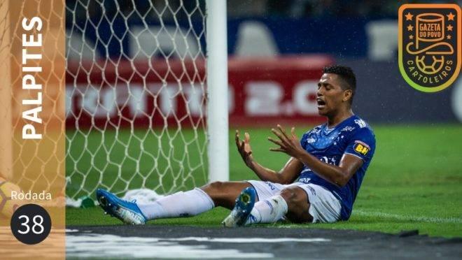 Palpites rodada 38 Brasileirão 2019