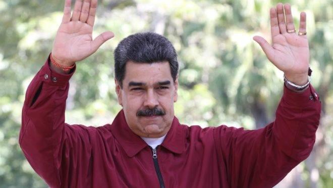 O ditador da Venezuela, Nicolás Maduro, em Caracas, 5 de dezembro