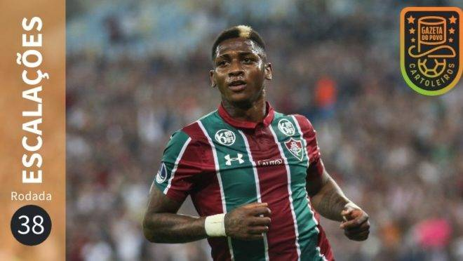 Prováveis escalações da 38ª rodada do Cartola FC 2019