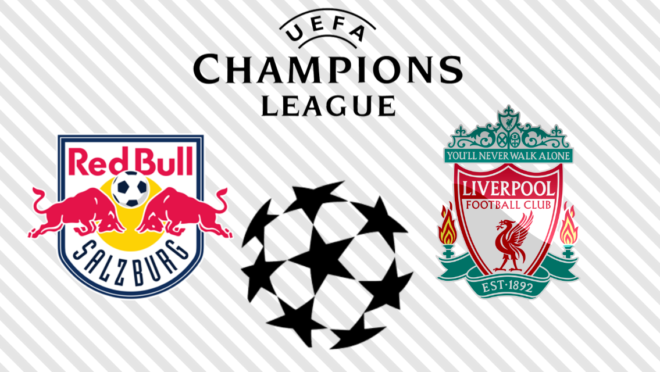 RB Salzburg x Liverpool: veja na TV