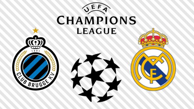Club Brugge x Real Madrid: veja na TV
