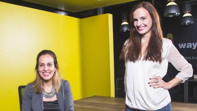 As fundadoras da MOL: Camilla Lopes e Melissa Gava.