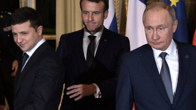 Encontro entre Zelensky e Putin